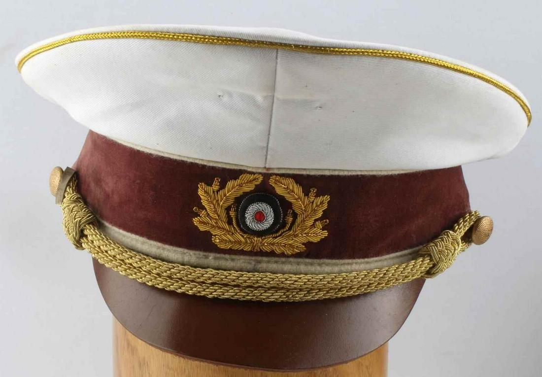 PRE WWII THIRD REICH GERMAN SUMMER VISOR CAP HAT