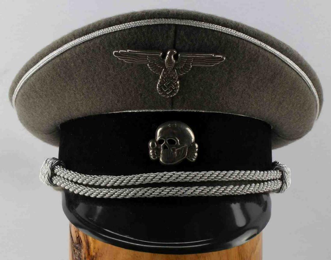 WWII THIRD REICH GERMAN WAFFEN SS GENERAL VISOR
