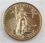 2020 GOLD AMERICAN EAGLE 1/4 OZ BU COIN