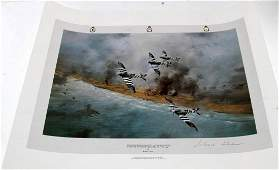 AVIATION PRINT CANADIAN WING OVER NORMANDY TAYLOR
