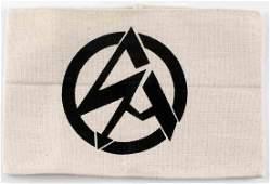 WWII GERMAN THIRD REICH SA BROWN SHIRTS ARMBAND