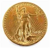 1 OZ. 1921 $20 ST. GAUDENS DOUBLE EAGLE GOLD COIN