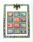 WWII THIRD REICH GERMAN COMMEMORATIVE MNH STAMPS