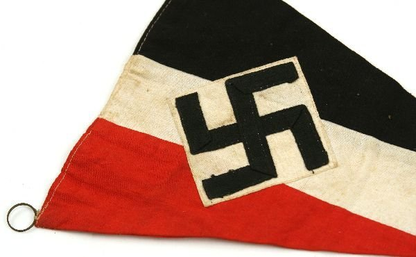 THIRD REICH BDM GIRLS HITLER YOUTH PENNANT - 2