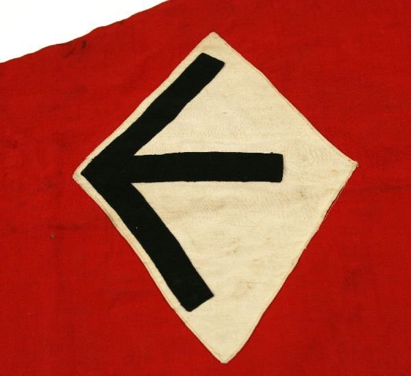 THIRD REICH BDM GIRLS HITLER YOUTH PENNANT - 4