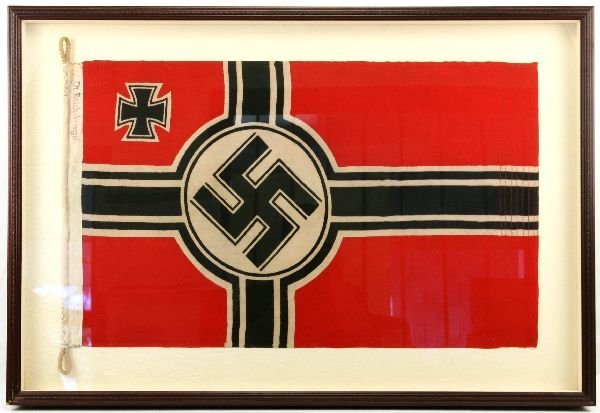 WWII REICHSKRIEGSFLAGGE - GERMAN WAR FLAG