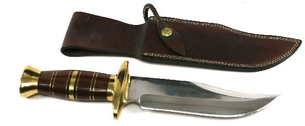 JOHN NELSON COOPER VINTAGE BOWIE KNIFE