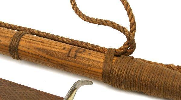 HARPOON SWORDFISH SWORD AND ADVERTISING KNIFE - 2