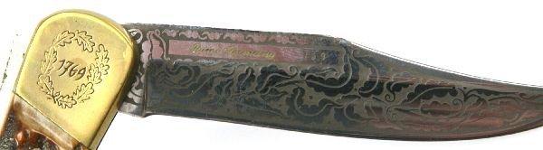 PUMA 1769 COMMEMORATIVE LOCK BACK KNIFE - 4