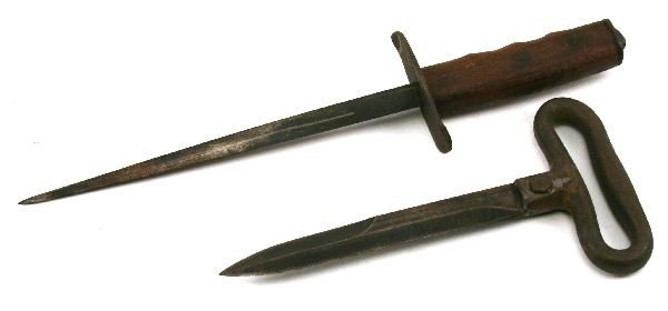US MILITARY WWI ERA TRENCH KNIVES