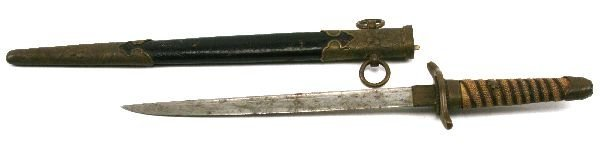 WWII JAPANESE NAVY NAVAL OFFICERS DIRK - DAGGER