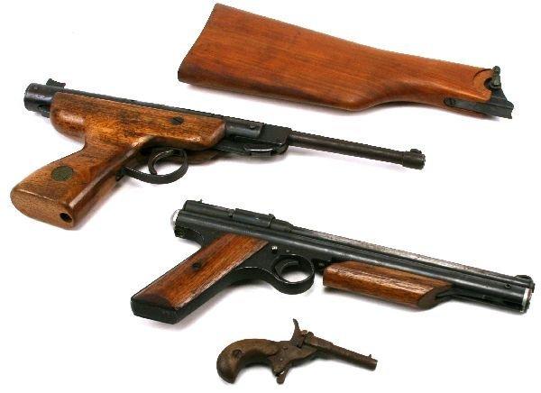 LUGER BUTT STOCK & BSF S20 PLUS OTHER AIR GUNS