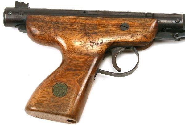 LUGER BUTT STOCK & BSF S20 PLUS OTHER AIR GUNS - 4