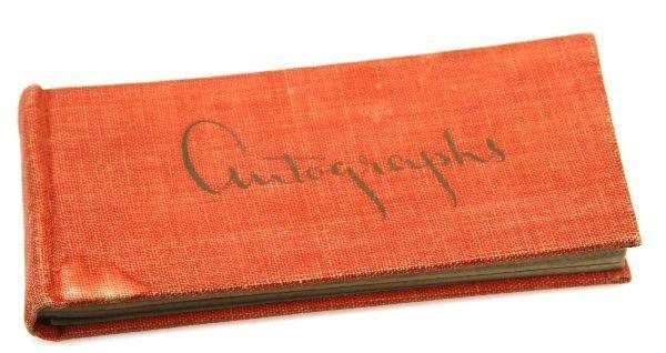 1946 HOLLYWOOD AUTOGRAPH BOOK