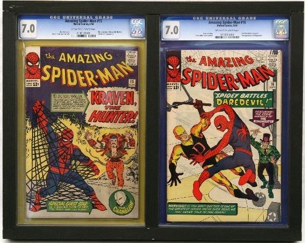 AMAZING SPIDER-MAN #15 16 CGC 7.0