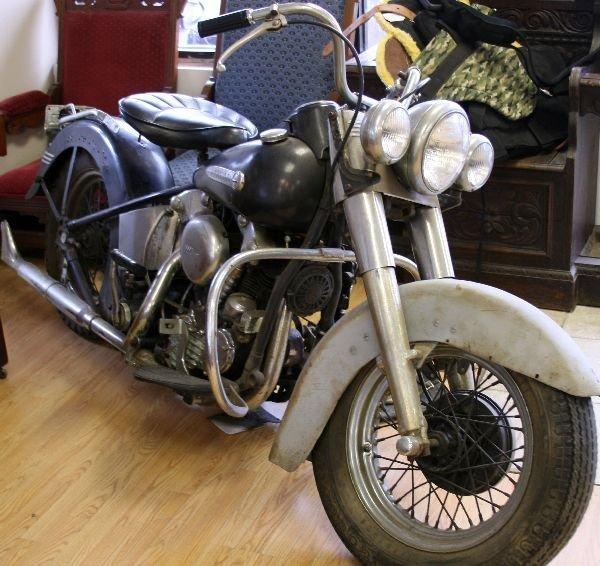 1946 HARLEY DAVIDSON KNUCKLEHEAD MOTORCYCLE - 4