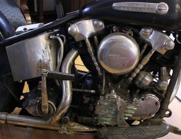 1946 HARLEY DAVIDSON KNUCKLEHEAD MOTORCYCLE - 5