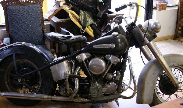1946 HARLEY DAVIDSON KNUCKLEHEAD MOTORCYCLE - 7