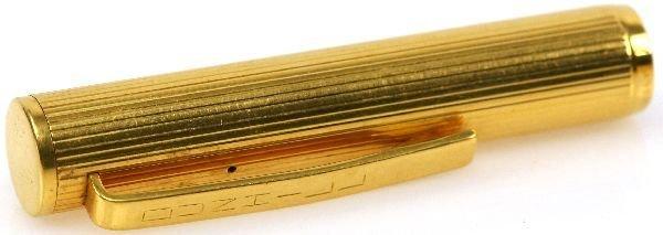 14K GOLD DUNHILL FOUNTAIN PEN - 3