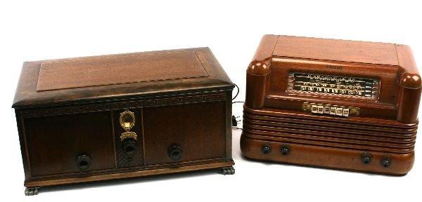 ANTIQUE RADIO PHILCO 42-350 & KOLSTER MODEL K-20