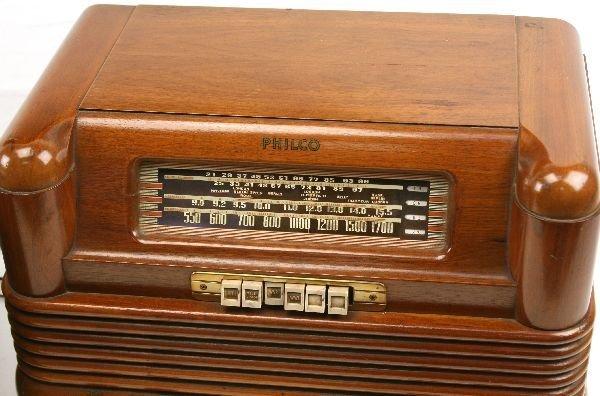 ANTIQUE RADIO PHILCO 42-350 & KOLSTER MODEL K-20 - 2
