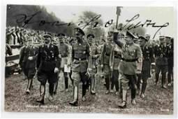 WWII THIRD REICH GERMAN SIGNED STREICHER PHOTO