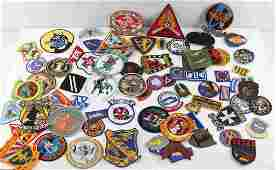 LARGE LOT 50+ US MILITARY MULTI CONFLICT PATCHES