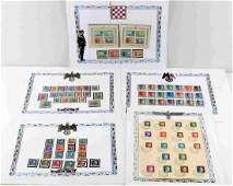 WWII GERMAN THIRD REICH COLLECTION POSTAL STAMPS