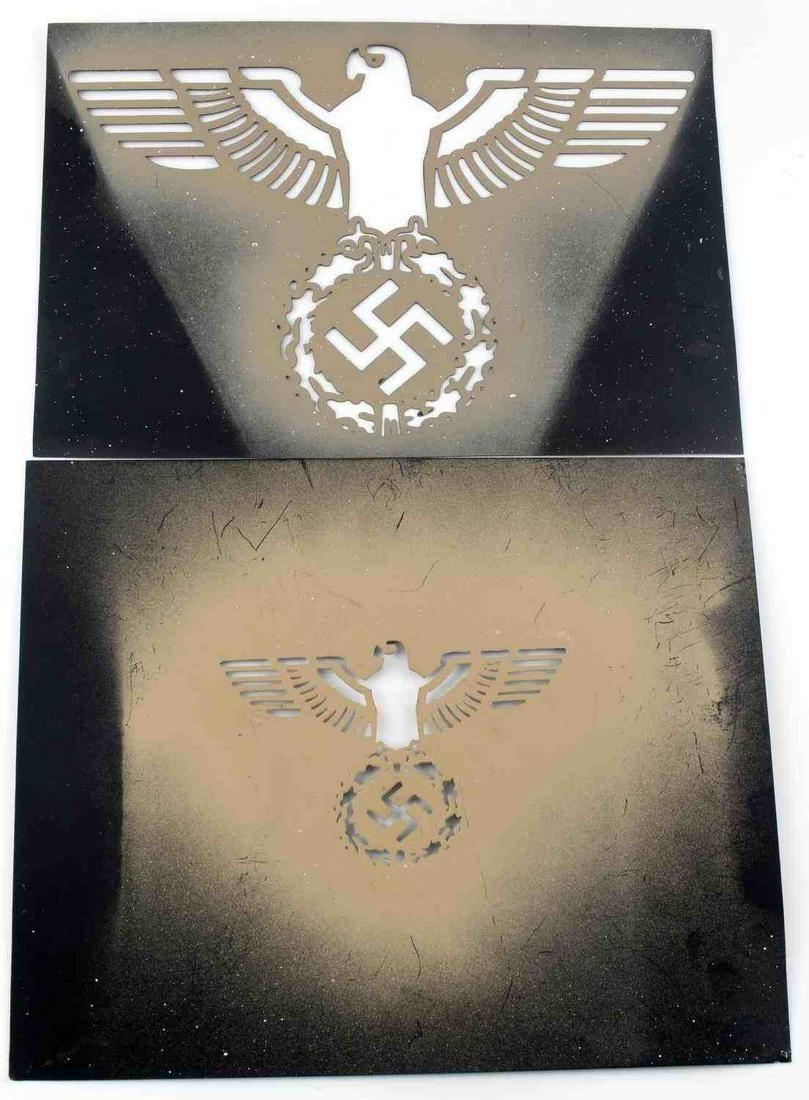 WWII THIRD REICH GERMAN REICHSADLER STENCIL