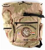 US ARMY OPERATION IRAQI FREEDOM BACKPACK