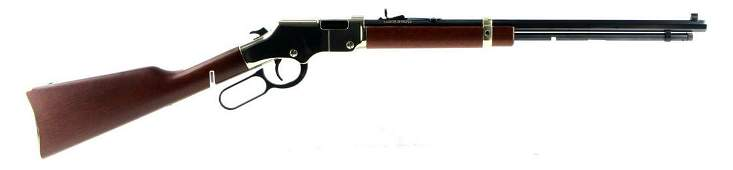 HENRY REPEATING ARMS BAYONNE 22 LEVER ACTION RIFLE