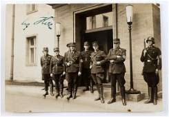 WWII GERMAN THIRD REICH PHOTO SIGNED BY HITLER