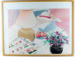 JUNE PELTER SIGNED LIMITED EDITION LITHOGRAPH