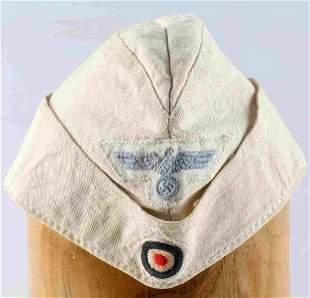 WWII THIRD REICH GERMAN LUFTWAFFE SUMMER CAP HAT