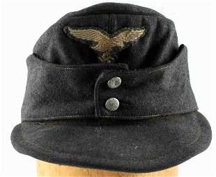 WWII THIRD REICH GERMAN LUFTWAFFE M43 FIELD CAP