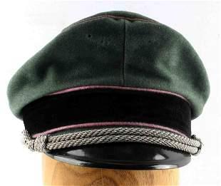 WWII GERMAN THIRD REICH PANZER DIV OFFICER VISOR