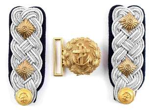 WWII GERMAN KRIEGSMARINE ADMIRAL SHOULDER BOARDS
