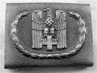 GERMAN WWII DEUTSCHES RED CROSS DRK EM BELT BUCKLE