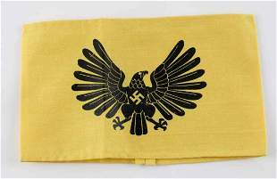 WWII GERMAN 3RD REICH FEMALE JUGEND YOUTH ARMBAND