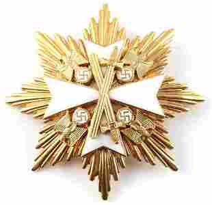 WWII THIRD REICH GERMAN EAGLE ORDER BREAST BADGE