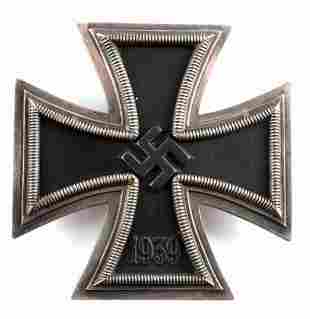 WWII GERMAN 1939 IRON CROSS FIRST CLASS BADGE