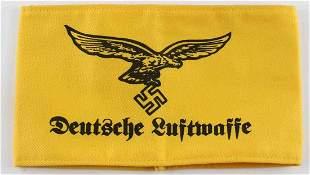 WWII GERMAN THIRD REICH DEUTSCHE LUFTWAFFE ARMBAND