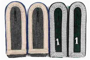 WWII THIRD REICH GERMAN SHOULDER BOARDS LOT OF 2