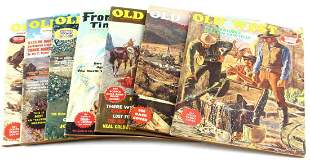 7 1960'S OLD WEST & FRONTIER TIMES MAGAZINE LOT