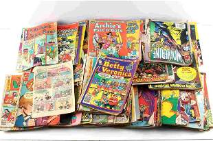OVER 100 LATE SILVER AGE & LATER COMIC BOOKS MIXED