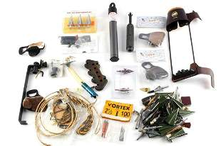 LARGE LOT OF ARCHERY BOW HUNTING SUPPLIES
