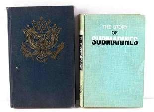U.S. SELECTIVE SERVICE AND SUBMARINE HISTORY BOOK