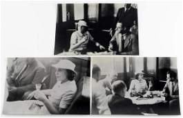 3 WWII GERMAN LENI RIEFENSTAHL 1902-2003 PHOTO LOT