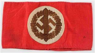 WWII GERMAN THIRD REICH SA MEMBERS ARMBAND RZM