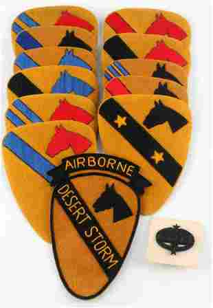 1ST CAVALRY DIVISON ASSORTED INSIGNIA PATCHES